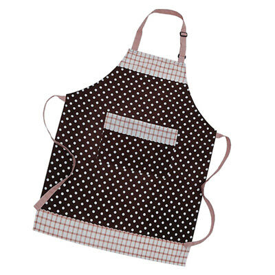 Cooksmart Cotton Apron with Pocket Cooking Baking KItchen Chef Brown