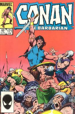 Conan the Barbarian (Marvel) #171 1985 FN Stock Image