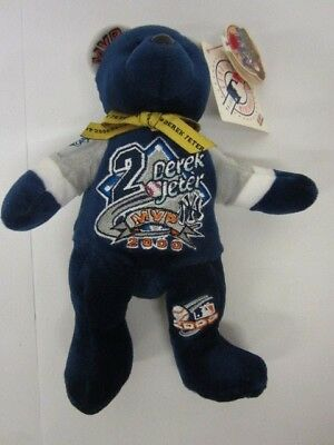 de01b89b79a Derek Jeter New York Yankees 2000 World Series MVP Beanie Baby Bear w tags