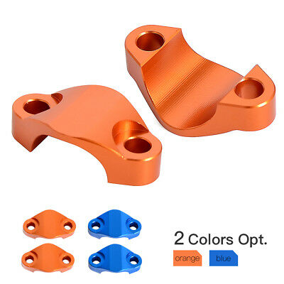 28mm Handlebar Riser Clamp Adapter Mount for KTM 50 250-530cc EXC SX XC 2000-15