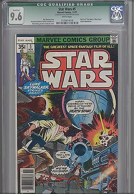 "Star Wars #5 CGC 9.6 1977  Marvel  Comic: Movie ""A New Hope"" Price Drop!"