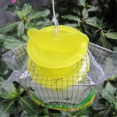 Top Disposable Fly Trap Catcher Insect Bag Hanging Style Pest Control D