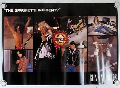 Guns N' Roses / Promotional Advertising Poster 20in×29in / JAPAN C180