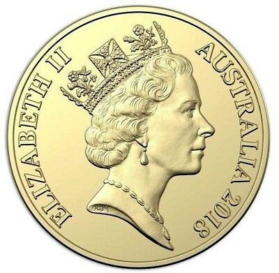 2018 $2 30th Anniversary same as 1988 Mid age Queen Obverse but 2018 date