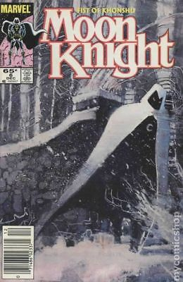Moon Knight (2nd Series) Fist of Khonshu #6 1985 VG Stock Image Low Grade