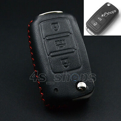 PU Leather Chain Bag Key Case Cover For Skoda Octavia Fabia Superb Roomster Yeti