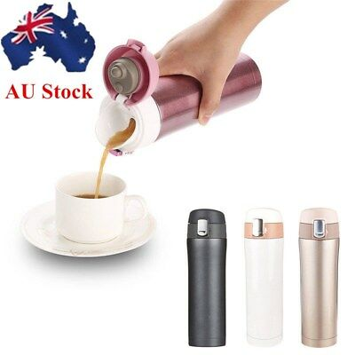 17 oz Stainless Steel Thermos Travel Mug Coffee Vacuum Flask Travel Tumbler Cup