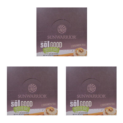 SUNWARRIOR - ORGANIC Sol Good Protein Bars Box Blueberry