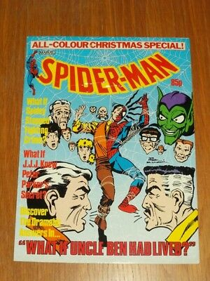 Spiderman British Weekly Christmas Special 1984 Marvel