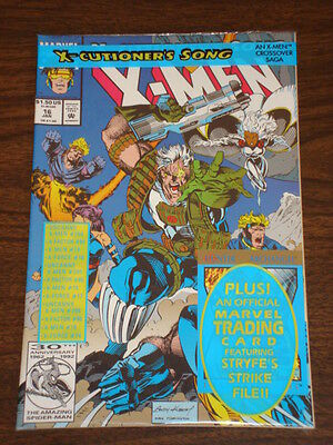 X-Men #16 Vol2 Marvel Comics Wolverine January 1993