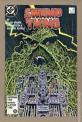 Swamp Thing (2nd Series) #52 1986 FN+ 6.5