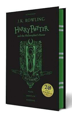 Harry Potter and the Philosopher's Stone - Slytherin Edition  *Brand New*