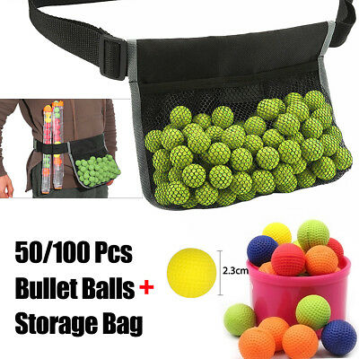 50/100pcs Round Compatible Bullet Balls For Nerf Rival Apollo Zeus Refill Toy