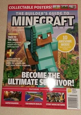 the Builder's Guide to Minecraft         - Magazine ISSUE No. 17      NEW