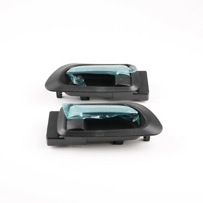 Pair of Inside Left Right Door Handle Chrome Black for Great Wall Haval H3 H5