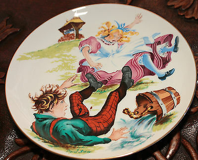 SAXONY LIMITED EDITION DAVID FISHER PLATE JACK AND JILL Collectible SKU16157