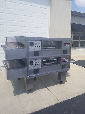 """Middleby Marshall PS555 Double Deck Conveyor Pizza Oven ***Belt Width 32""""***"""