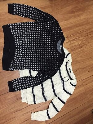 Bulk Buy Valley Girl Knit + Chic Booti Knit Jumper / Top Size med EUC
