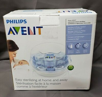 Philips AVENT Microwave Steam Sterilizer BPA Free Lightweight Ultra Fast (VD188)