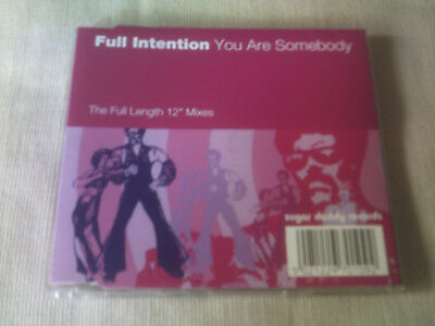 Full Intention - You Are Somebody - House Cd Single
