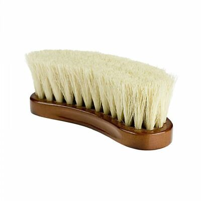 Horze Natural Dust Brush with Soft Tampico Fibers for Horse Grooming