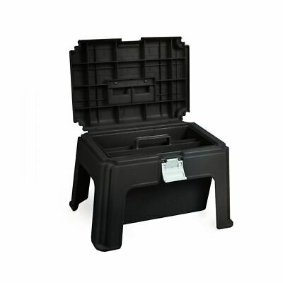Horze Multi-Purpose Horse Grooming Box and Step Stool in Molded Plastic