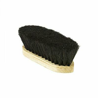 Horze Horse Hair Dandy Brush with Wood Molded Back for Horse Grooming