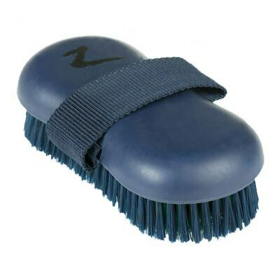 Horze Combination Sponge and Bristle Brush with Strap for Horse Grooming