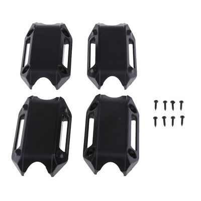 Engine Guard Protection Bumper Decorative Block 25mm for BMW R1200GS Black
