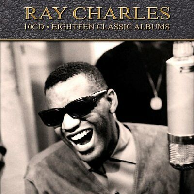 Ray Charles EIGHTEEN (18) CLASSIC ALBUMS Remastered NEW SEALED 10 CD BOX SET