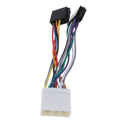 CAR STEREO ISO Wire Connector Harness Player Plug for Subaru
