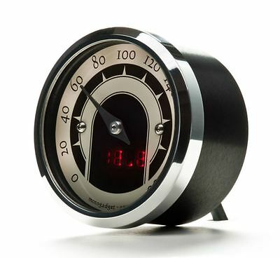 Motogadget MG5001014 Motoscope Tiny 49mm Speedster Motorcycle Analog Speedometer
