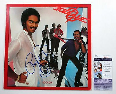 Ray Parker Jr Signed LP Record Album Raydio Rock On w/ JSA AUTO