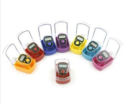 5 digits LED Tally Counter Finger Ring Hand Tally Counter Digital Timers Jm