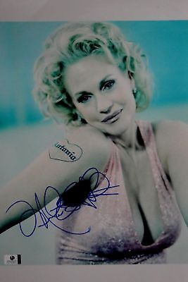 Melanie Griffith Hand Signed Autographed 10x15 Photo Gorgeous Sexy GA GV 750503
