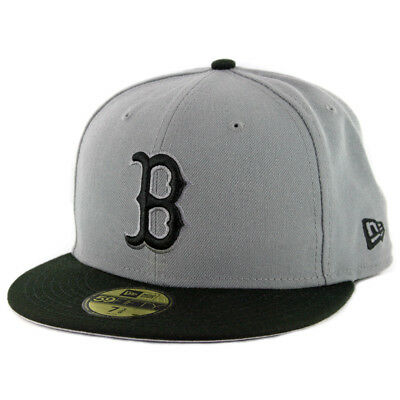 uk availability 4d5af 36658 New Era 59Fifty Boston Red Sox Fitted Hat (Storm Grey Black Black)