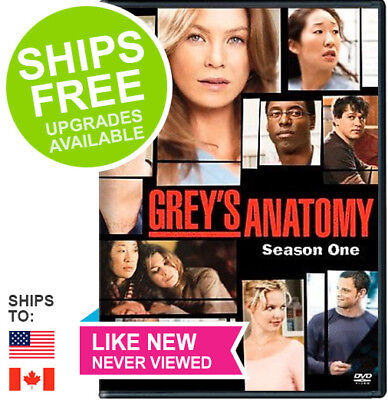 GREY\'S ANATOMY ~ Complete 1st First Season 1 One ~ BRAND NEW DVD SET ...
