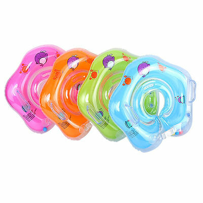 Inflatable Baby Swimming Newborn Infant Neck Float Ring Bath Swim Safe US STOCK