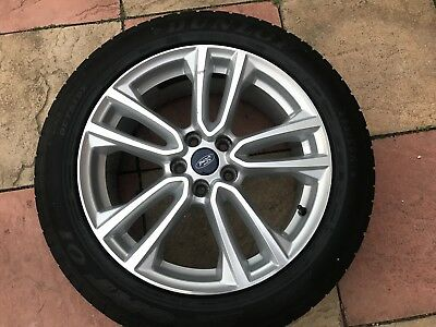 Ford Kuga  Inch Alloy Wheel Titanium With Dunlop Tyre Size