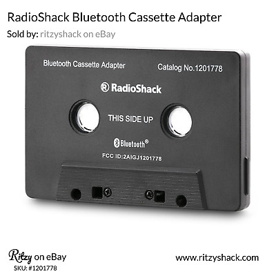 RadioShack Bluetooth Cassette Adapter, 1201778