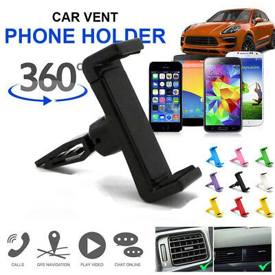 Car Air Vent Phone Mount Holder Mobile Rotating 360° Anti skid Cradle Stand USA