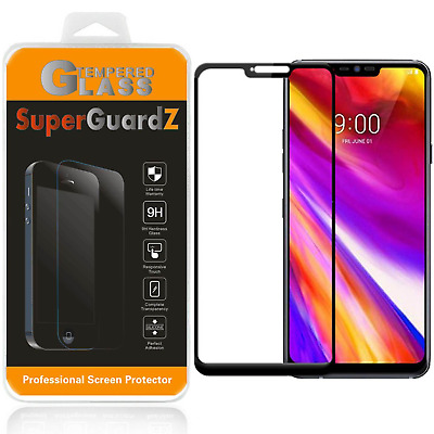 For LG G7  FULL COVER Tempered Glass Screen Protector Guard Shield