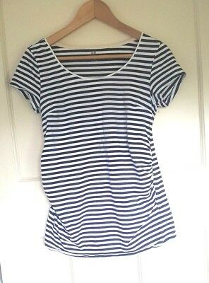 2 Maternity Tops H&M Mama & Dorothy Perkins Size M 10 T Shirts Bundle