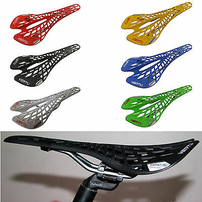 Bike Seat Cushion Cover MTB BMX Mountain Road Bike Light weight Spider Saddle