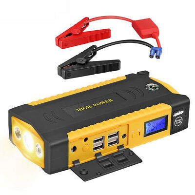 13600Mah Emergency Car Jump Starter 600A For Car Battery Battery Charger Usb