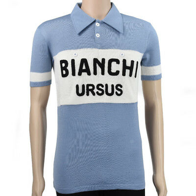 VV Classics Bianchi Ursus vintage style merino wool jersey