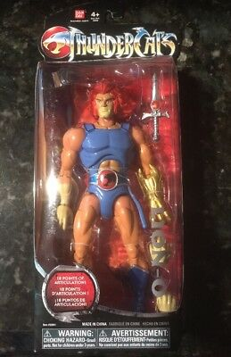 "Classic Thundercats LION-O 8-inch Action Figure Bandai 8"" NEW Liono collector"