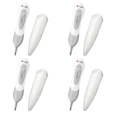 4X New The First Years American Red Cross Multi Use Digital Thermometer Birth +