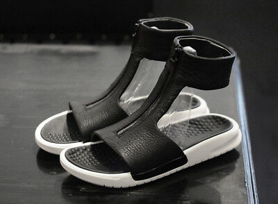 new products b7b2f c8c2e NIKELAB NIKE BENASSI CUFF LUX SANDALS BLACK Gr.39 US 8 slides 819684-001