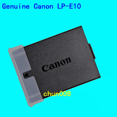 Genuine Original Canon LP-E10 Battery for EOS1100D 1200D 1300D Rebel T3 LC-E10